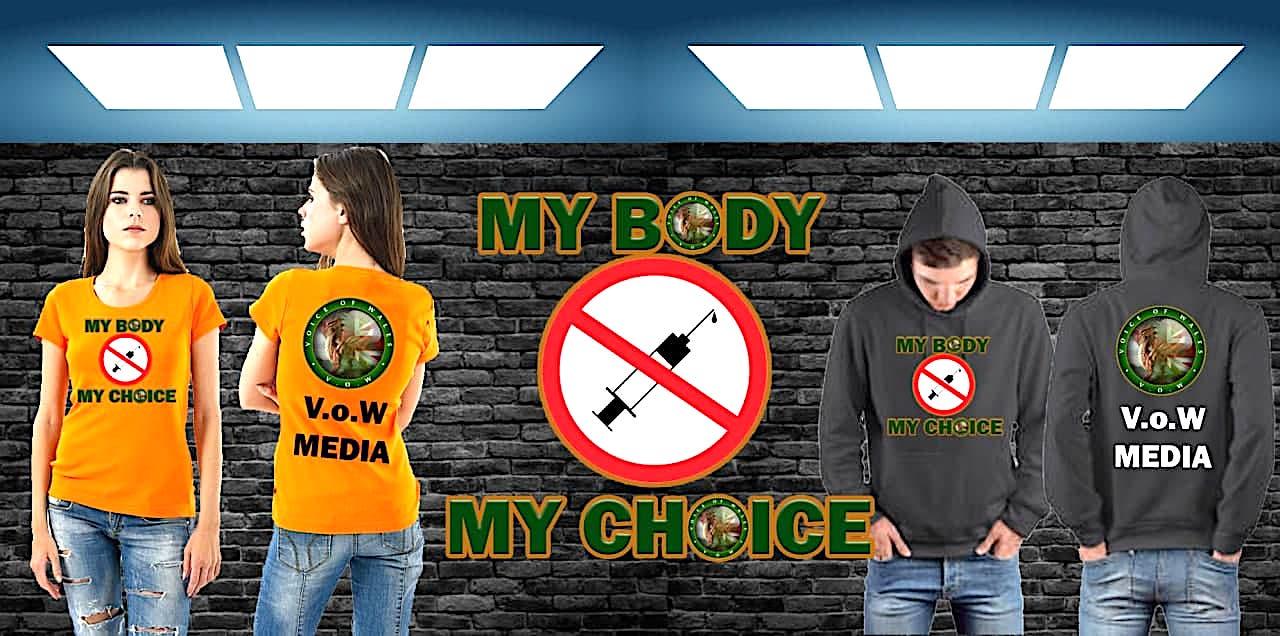 My Body, My Choice - T