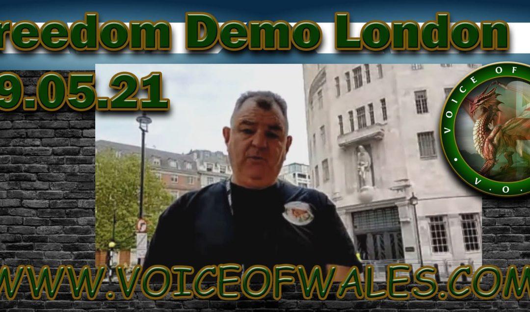 Freedom Demo London 29.05.21