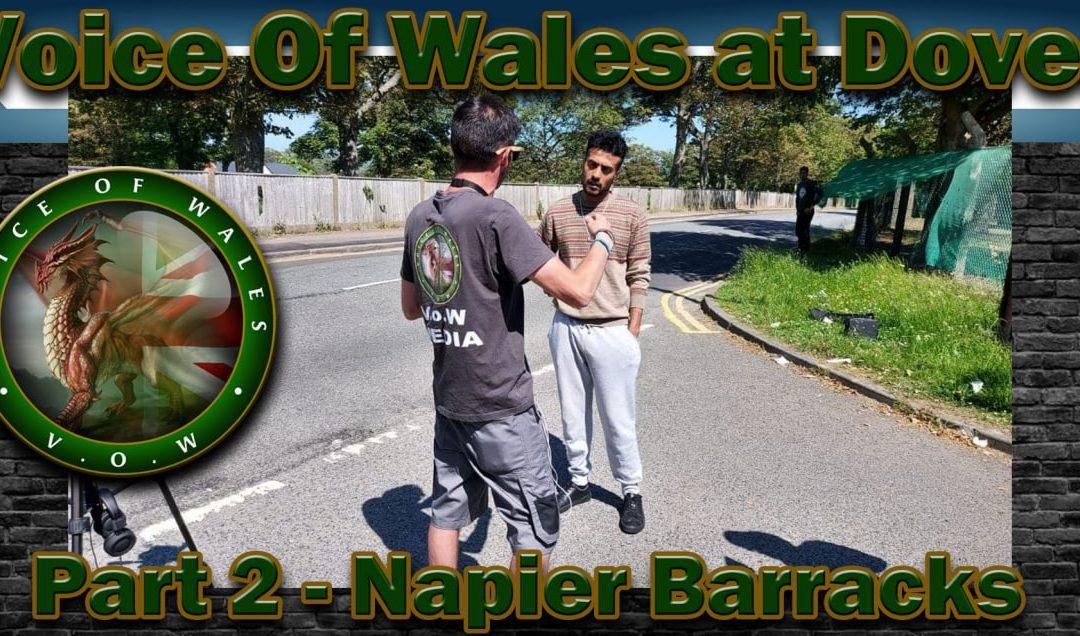 Voice Of Wales – Dover Part 2 / Napier Barracks Folkestone