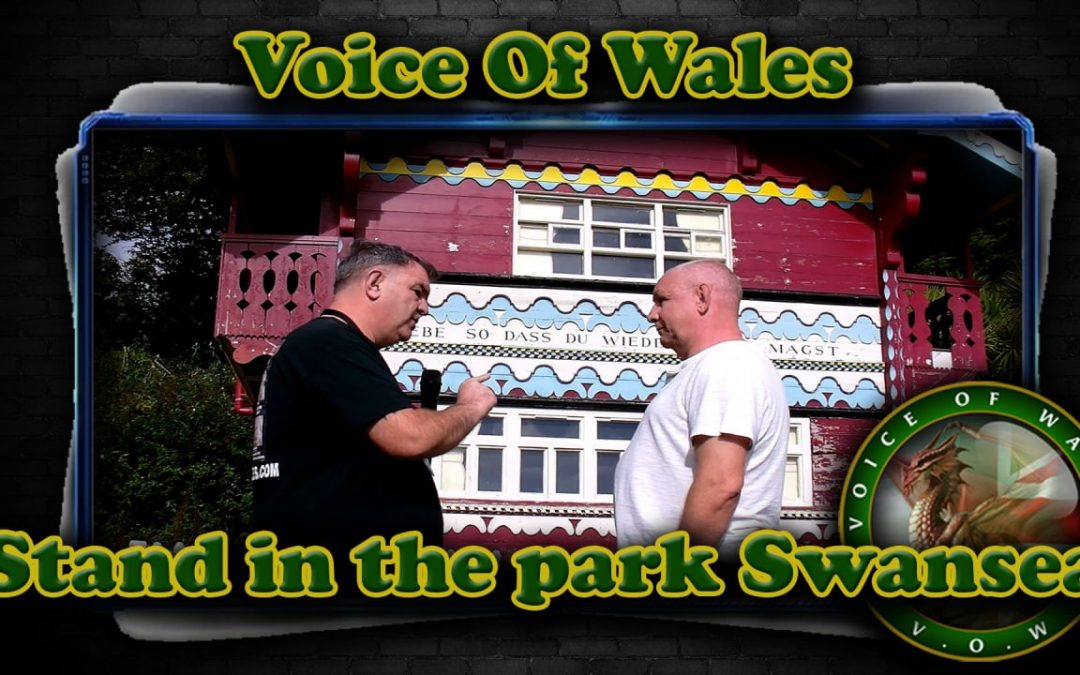 Voice Of Wales at Stand in the Park Swansea 26.09.21
