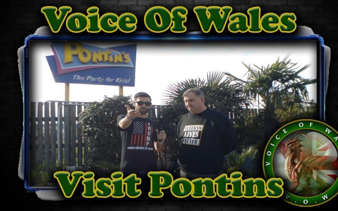 Voice Of Wales Visits Pontins Prestatyn
