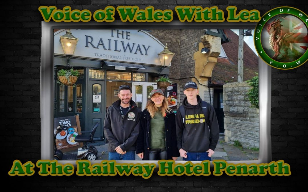 Voice Of Wales & Lea at The Railway Hotel Penarth